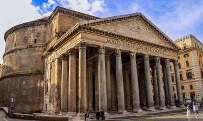 Panteon je hram sagrađen oko 126. godine naše ere