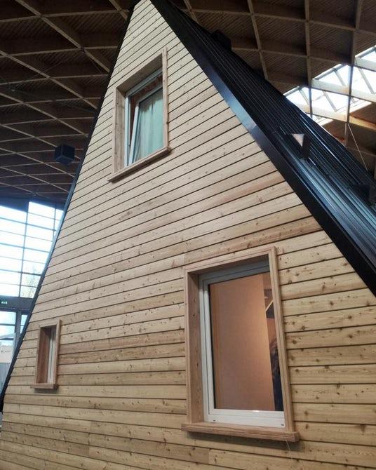 Kuća M.A.Di dolazi u nekoliko veličina, uključujući manju kuću od 27 kvadratnih metara