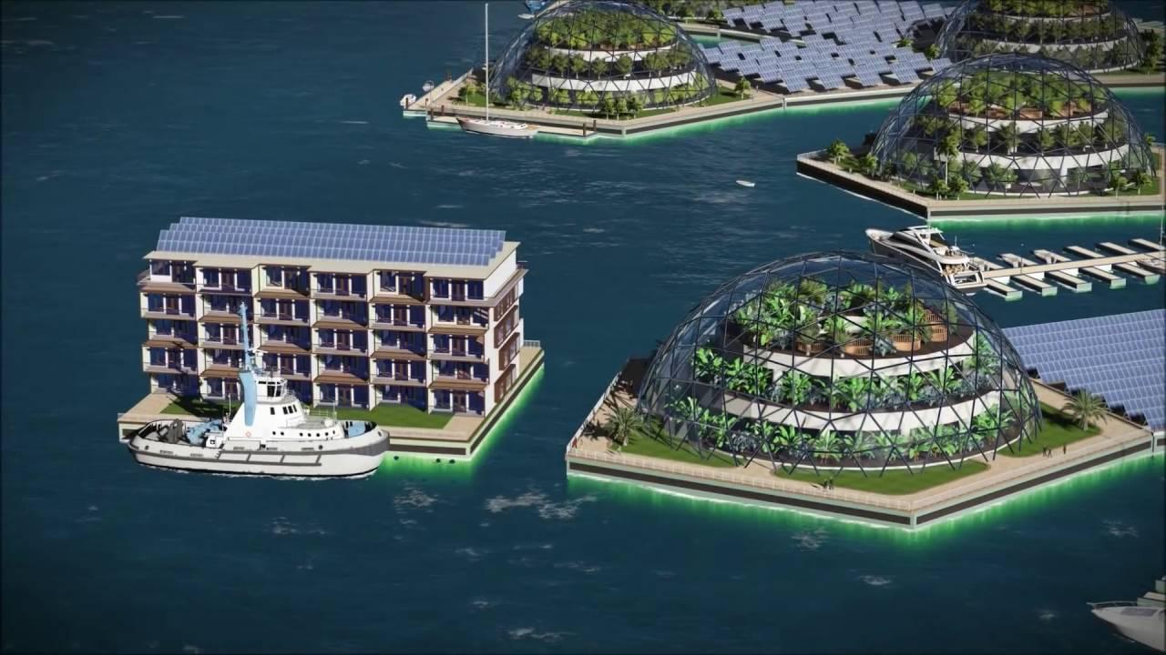 """Ovaj plutajući grad biće smešten u """"posebnoj ekonomskoj zoni"""""""