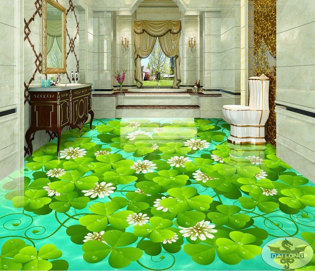Dekorativni podovi, detelina