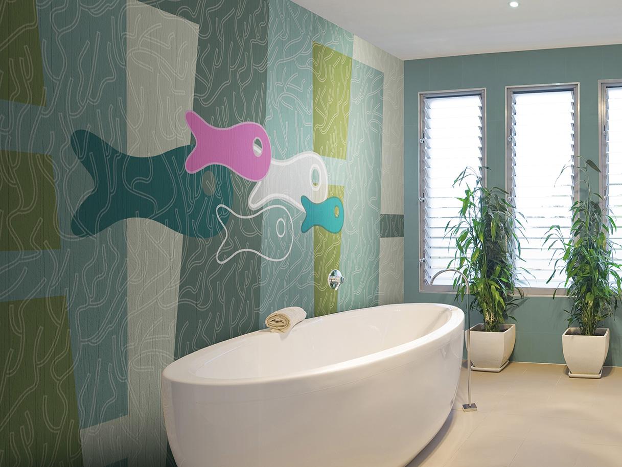 Kompanija N.O.W. Edizioni, tapete za kupatilo