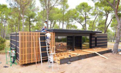 Kuća PopUp pravi se od prefabrikovanih panela