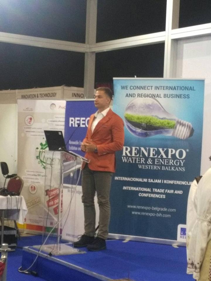 Filip Radović iz sekretarijata za zaštitu životne sredine