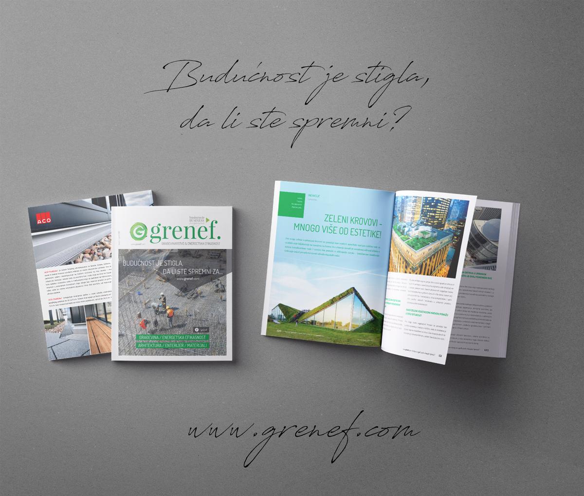 Grenef-Građevinarstvo & Energetska Efikasnost, izdanje broj 1, april 2018