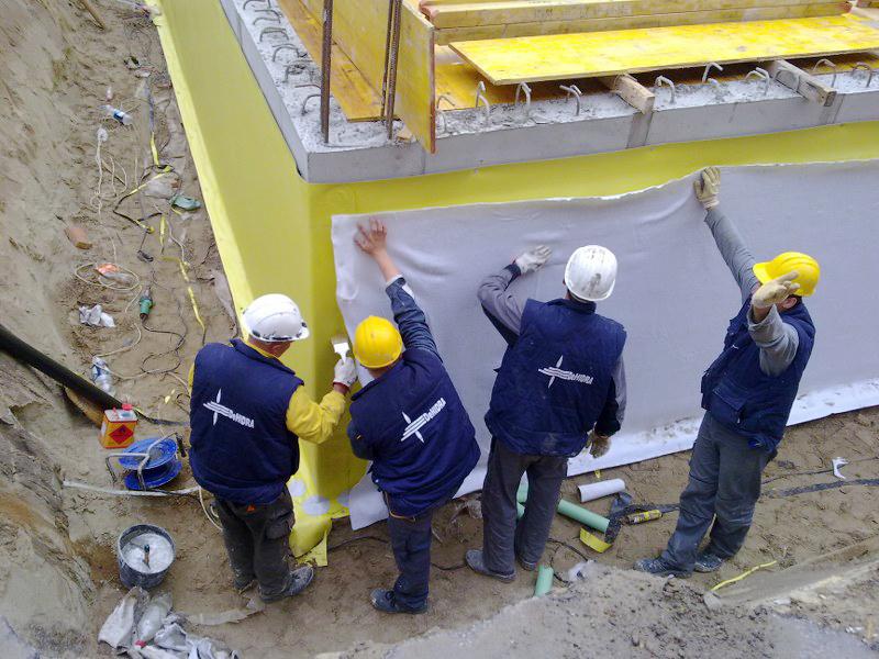 Hidroizolacioni sistemi u građevinarstvu - DEHIDRA 021 doo