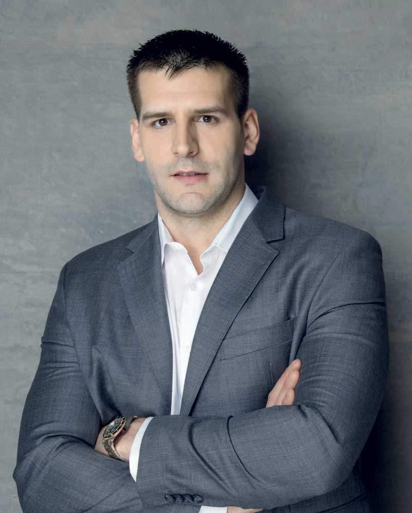 """JOVAN MILIVOJEVIĆ direktor prodaje i marketinga kompanije """"Square Affair Keramika Kanjiža"""""""
