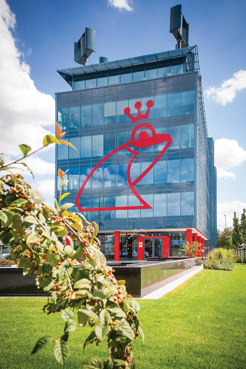 Werner & Mertz-poslovna zgrada, energetska efikasnost objekta