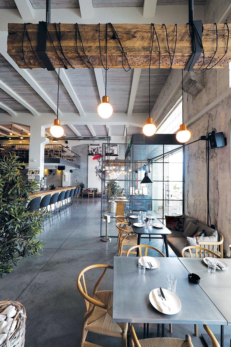 Restoran Ambar u Beogradu, projekat A4 Studio, foto: Rade Kovač