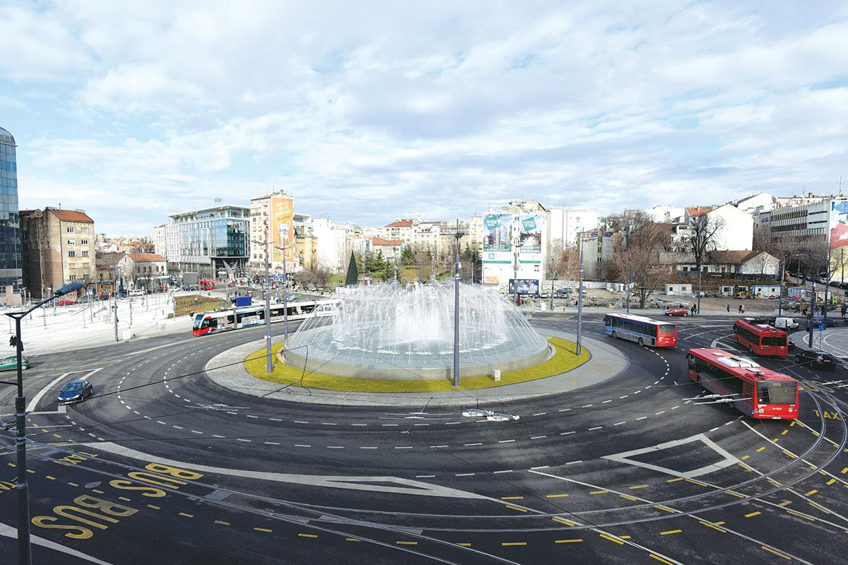 Fontana u Beogradu na Slaviji