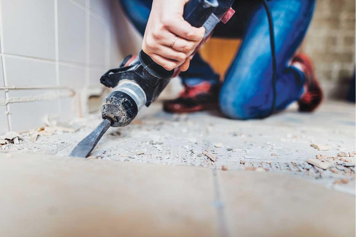 Radovi na kući - renoviranje kupatila