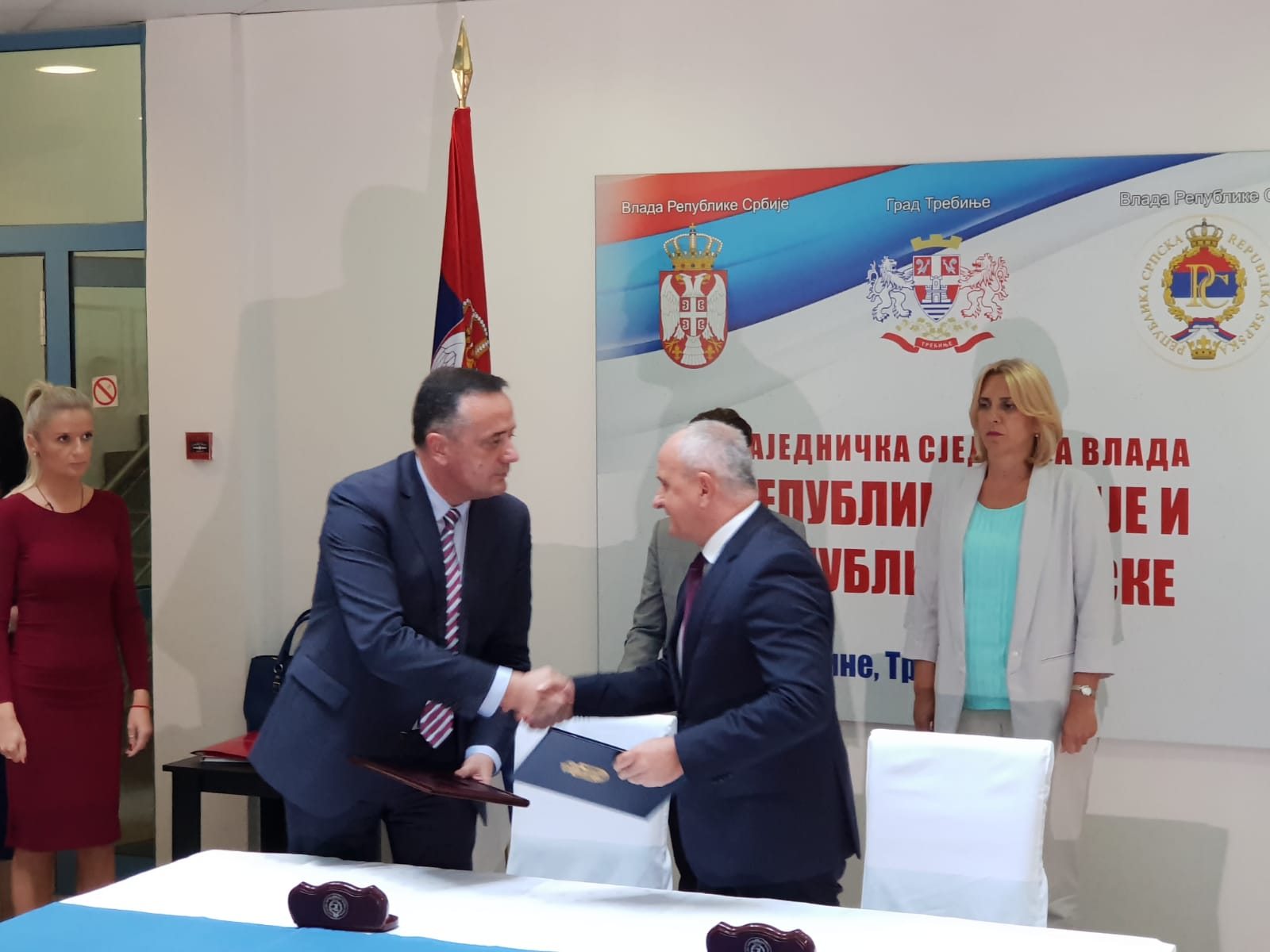Ministri energetike Republike Srbije i Republike Srpske – Aleksandar Antić i Petar Đokić