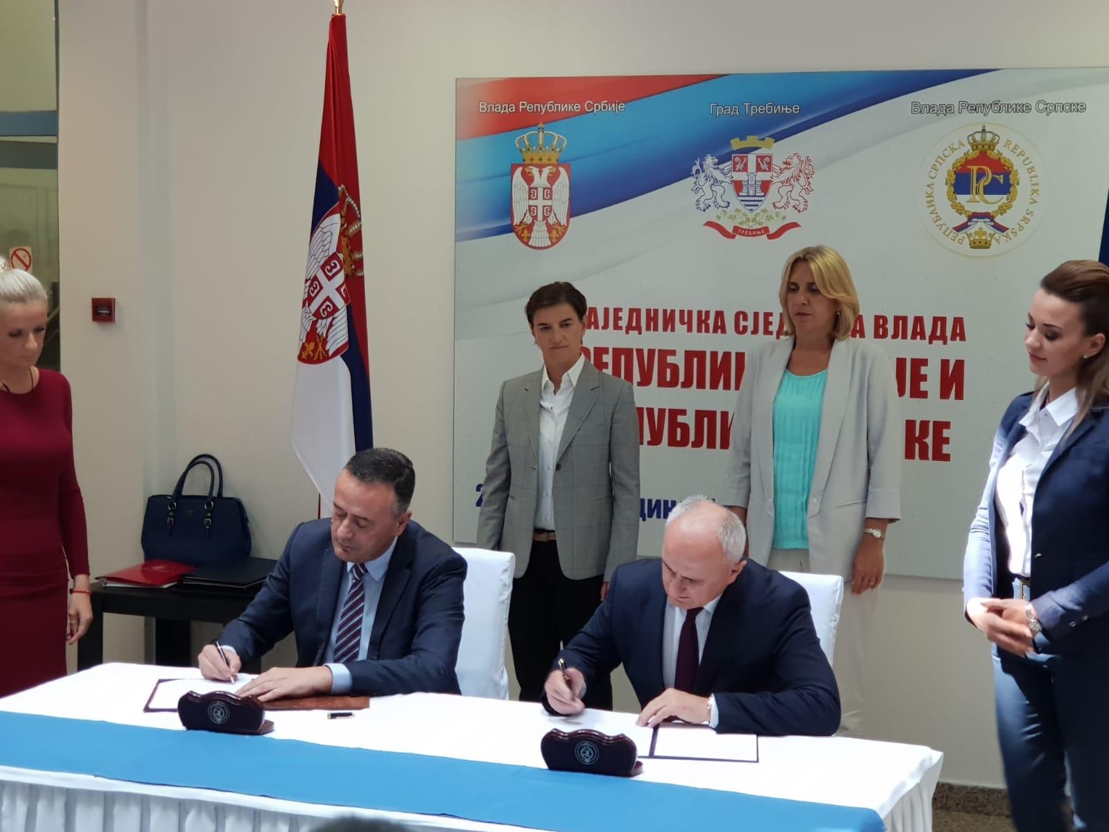 Republika Srbija i Republika Srpska - potpisan memorandum o saradnji u oblasti energetike