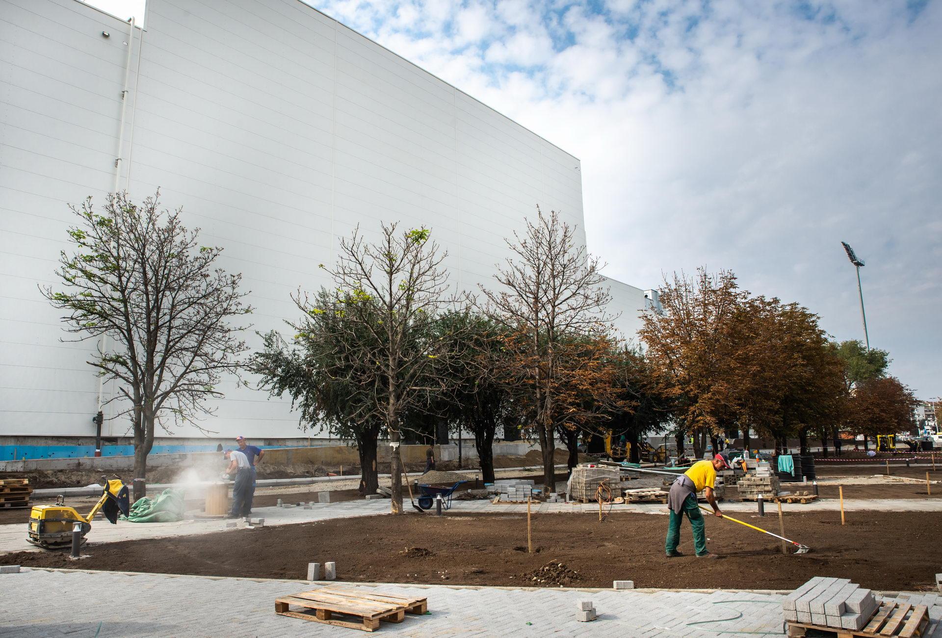 Izgradnja Promenade u Novom Sadu