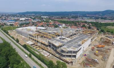 Širbegović - izgradnja objekta Delta City - Banja Luka, Bosna i Hercegovina