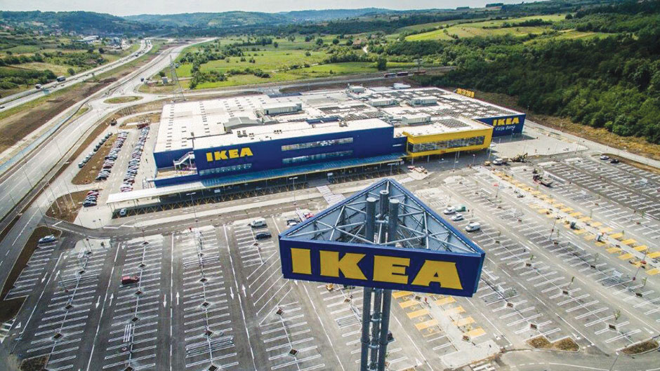 Širbegović - Izgradnja objekta IKEA, Beograd