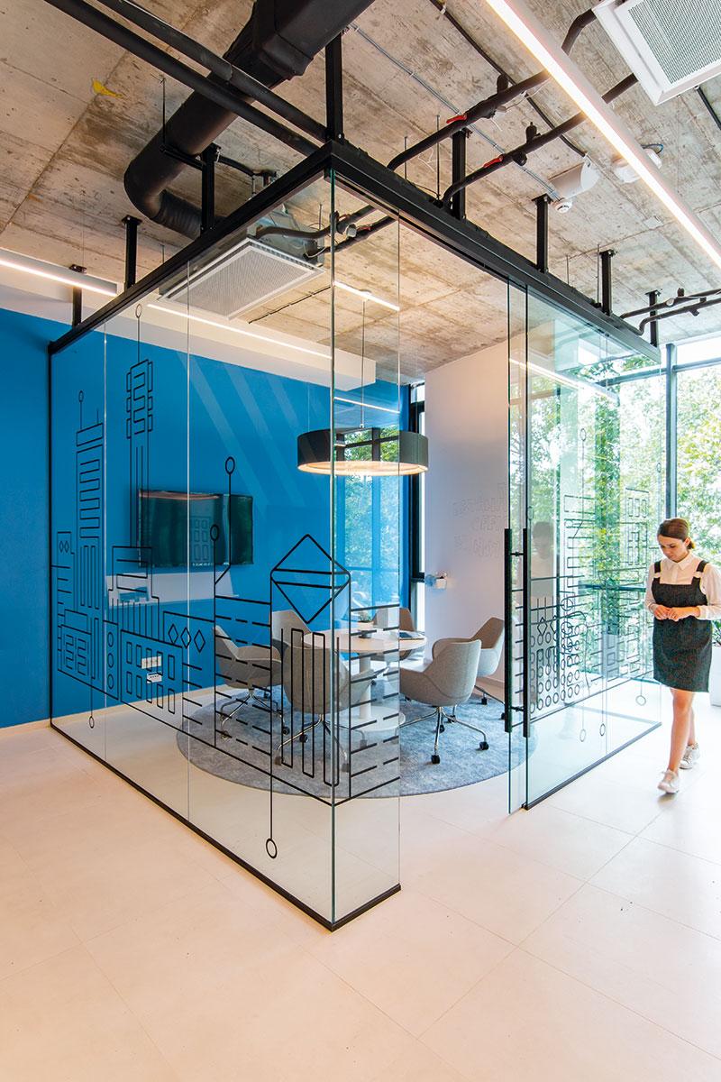 Enterijer za IT kompaniju Instana u Novom Sadu, arh Sonja Brstina, foto: Igor Conić