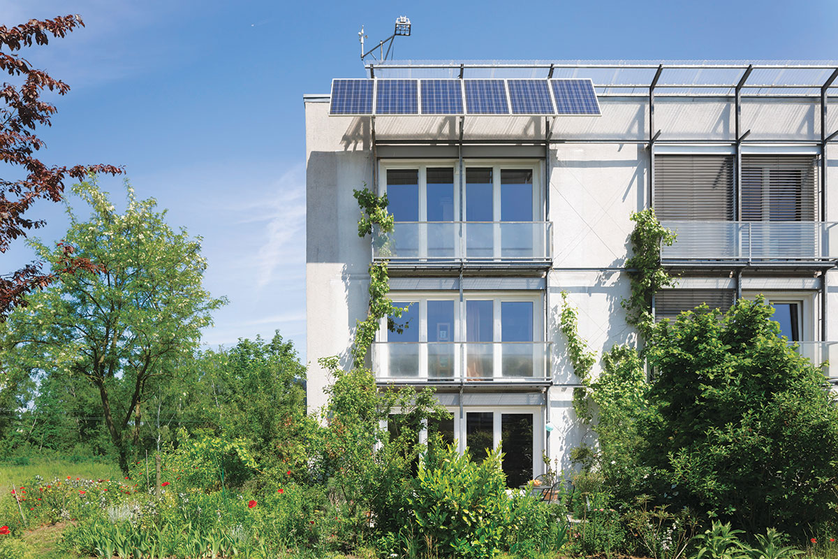 Prva Pasivna kuća na svetu: Kranichstein Passive House, Darmstadt