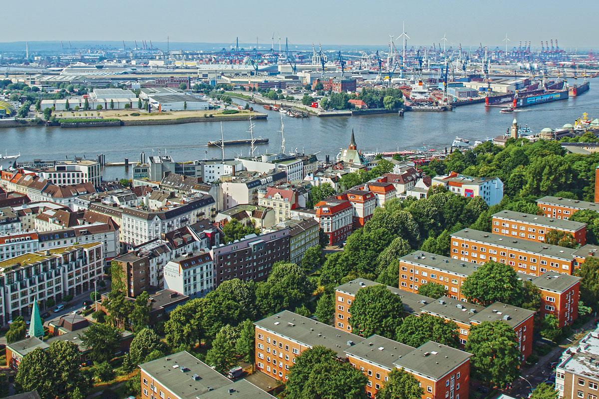 Hamburg - zelene prestonice Evrope