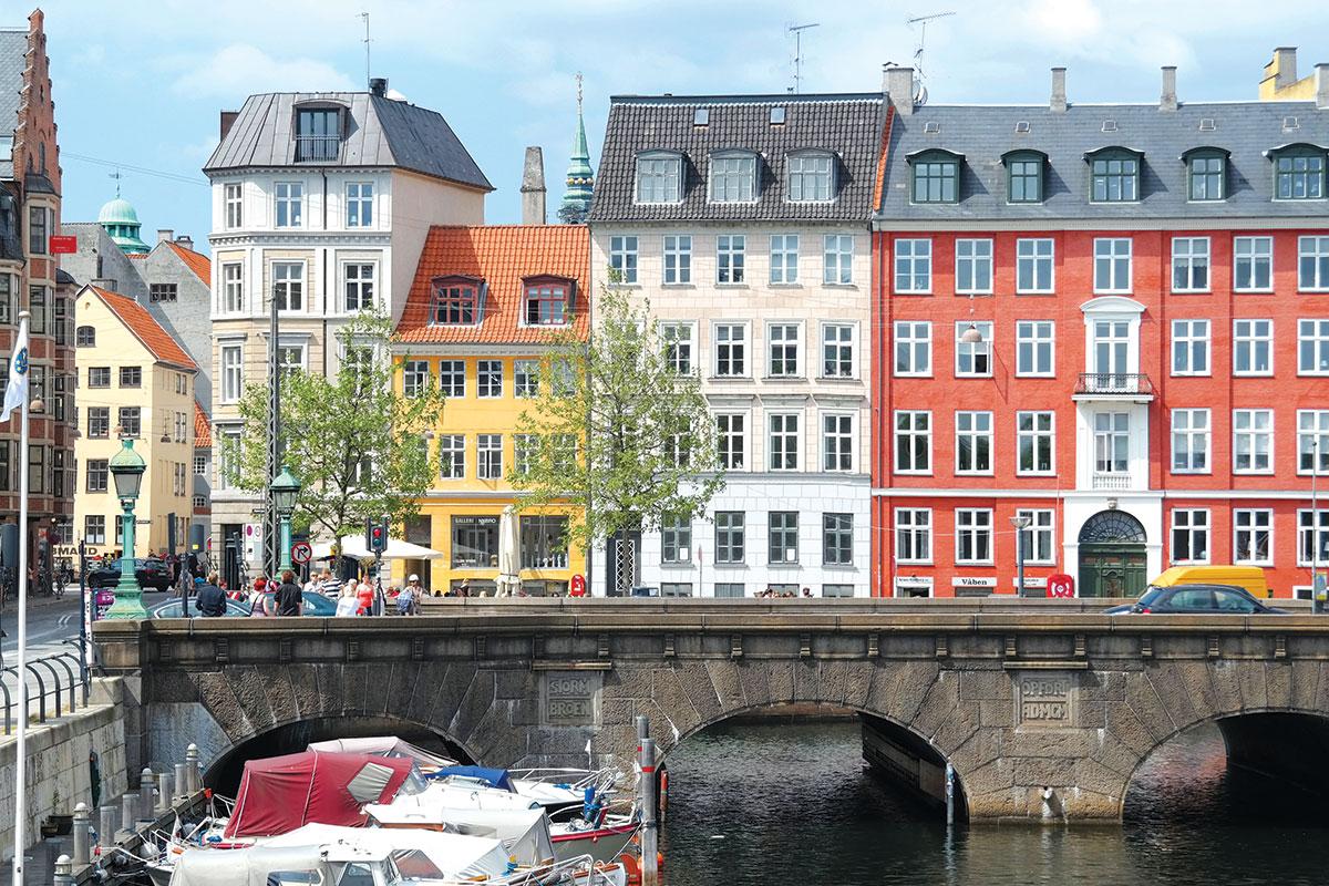 Kopenhagen - zelene prestonice Evrope