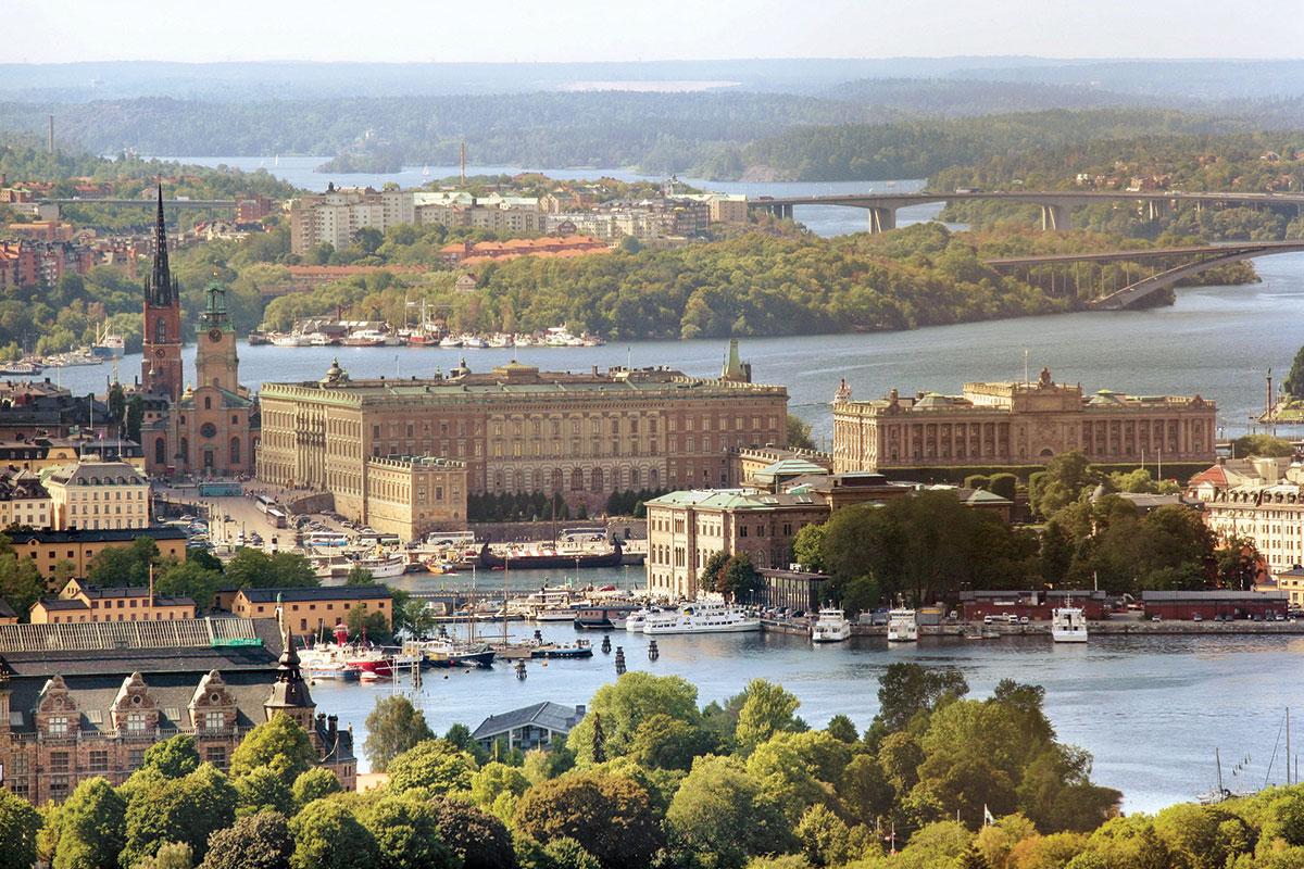Stokholm - zelene prestonice Evrope