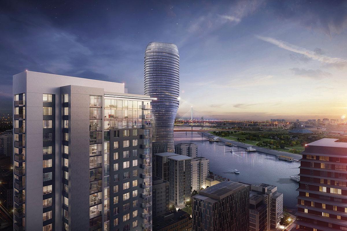 ALUMIL - BW Vista – stambena kula u sklopu arhitektonsko – urbanističkog kompleksa Beograd na vodi.