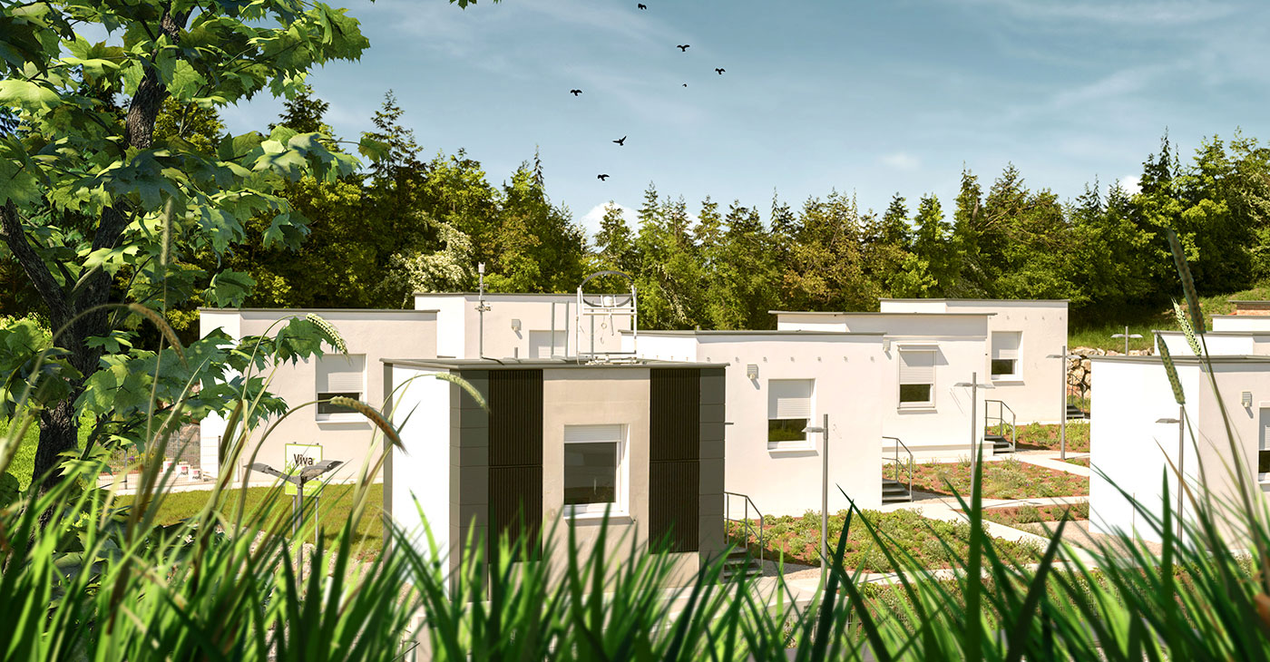 Istraživački park viva u Wopfingu - Baumit