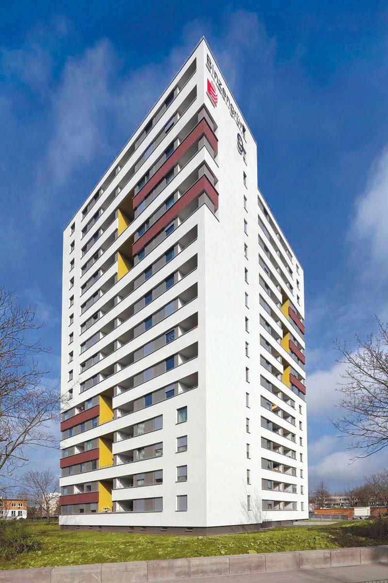 Foto: Višespratnica Hochhaus Binzengrün 9, posle sanacije