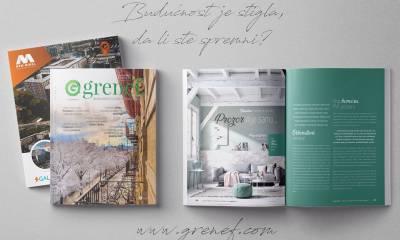 Časopis GRENEF-Građevinarstvo & Energetska Efikasnost, broj 4, januar 2019