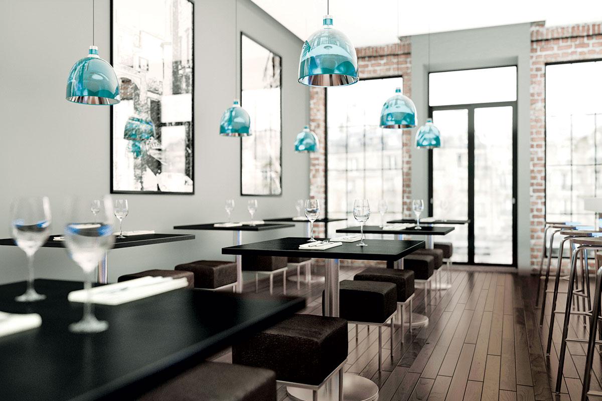 Hidro-parket, restoran kafe-bar