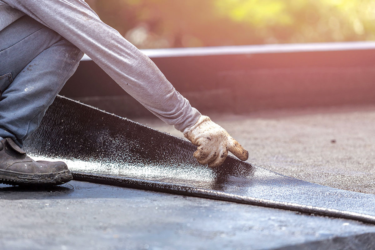 Hidroizolacija ravnih krovova bitumen
