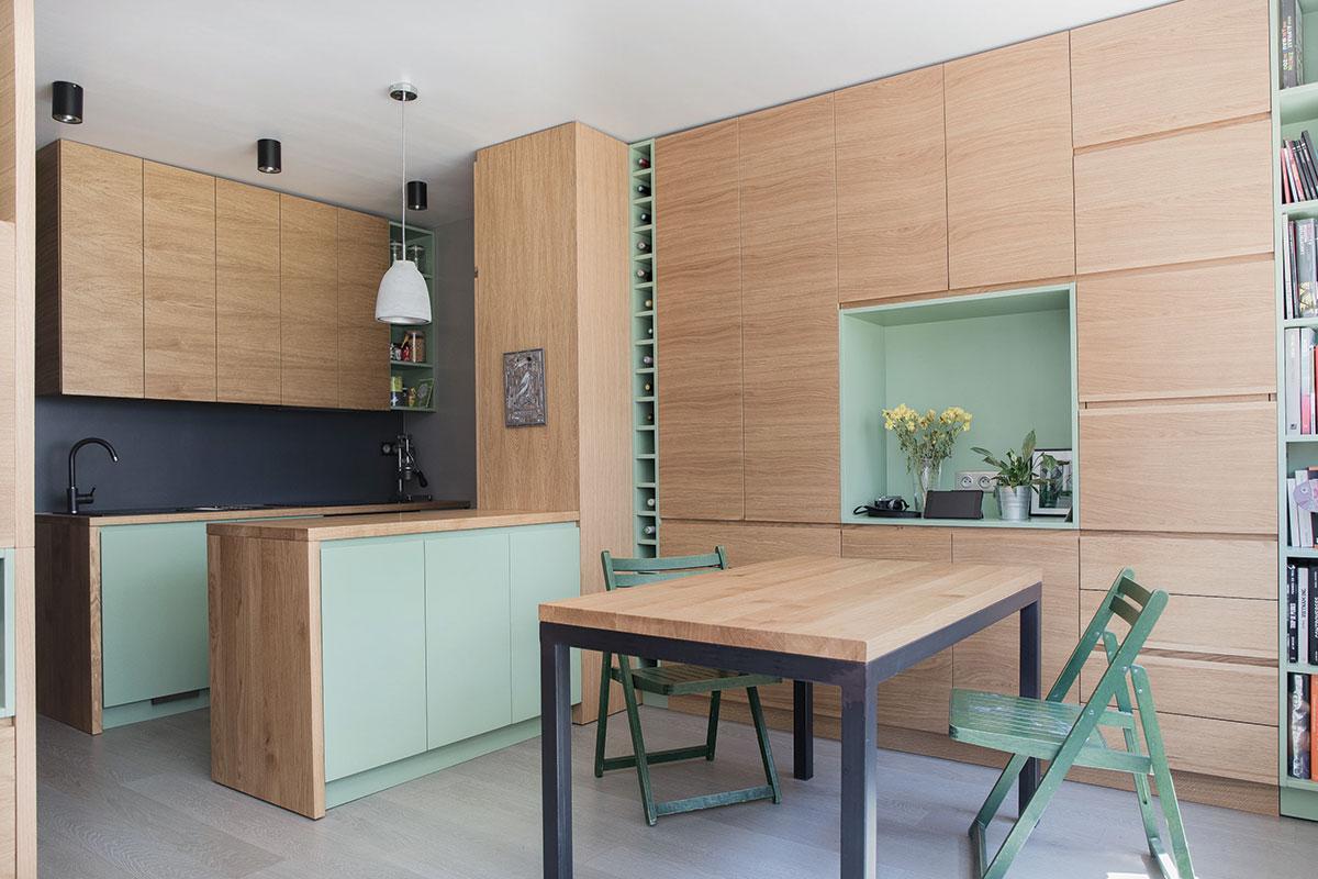 Foto: Enterijer stana u Parizu - projekat, izrada nameštaja i montaža