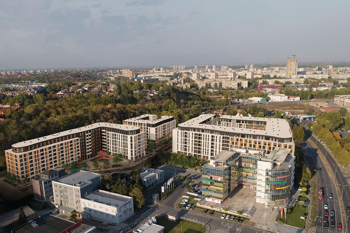 Stambeno poslovni kompleks NEW MINEL residence & office / Galens invest