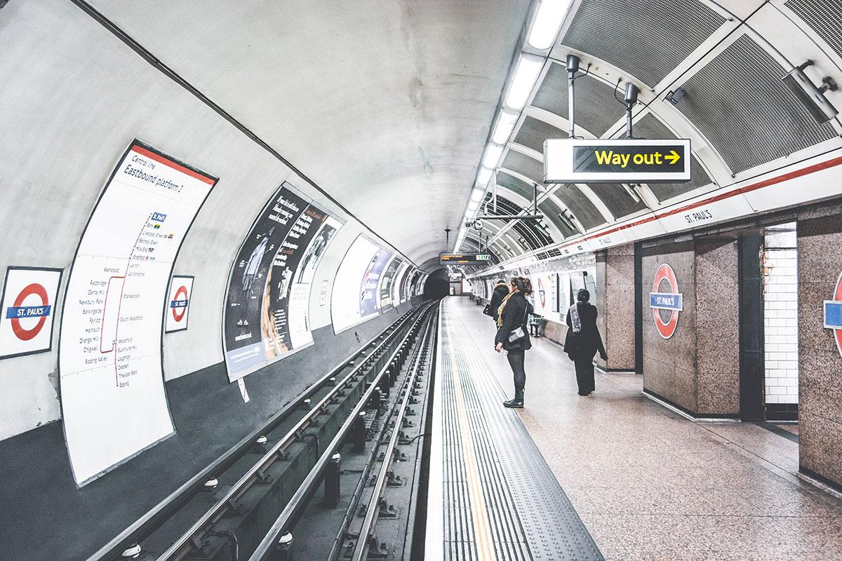 London tube metro