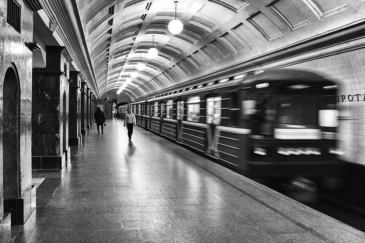 Podzemni metro u Moskvi, Rusija