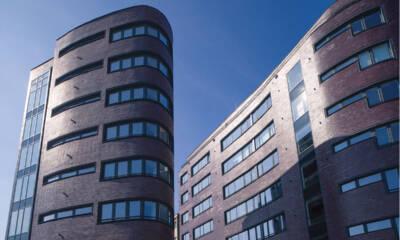 Poslovni objekat u Beogradu Ziegel House – Fasadna cigla Roeben listele - model Adelaide, izvođač kompanija ARTERRACOTTA