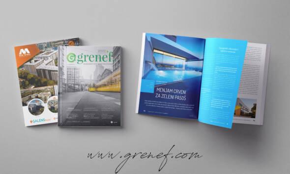 Časopis GRENEF - građevinarstvo & energetska efikasnost, broj 5, april 2019