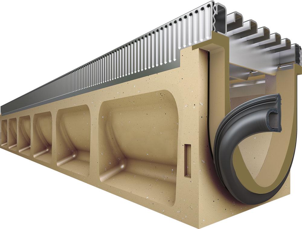 ACO DRAIN® Multiline Seal in tehnologija