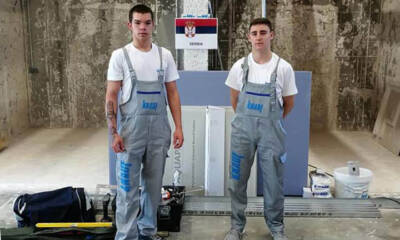 Srbija je vicešampion Evrope u suvoj gradnji