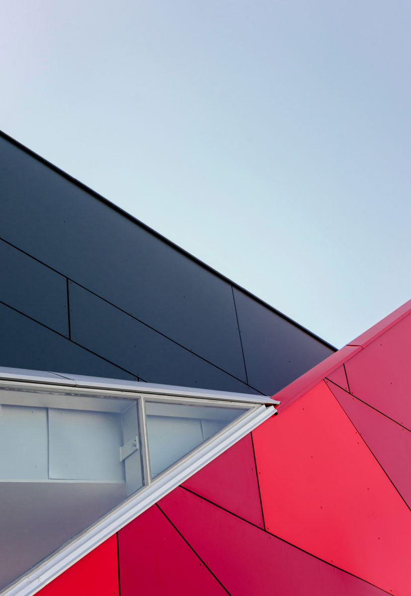 Kontaktna fasada - aluminijum - poslovni objekat