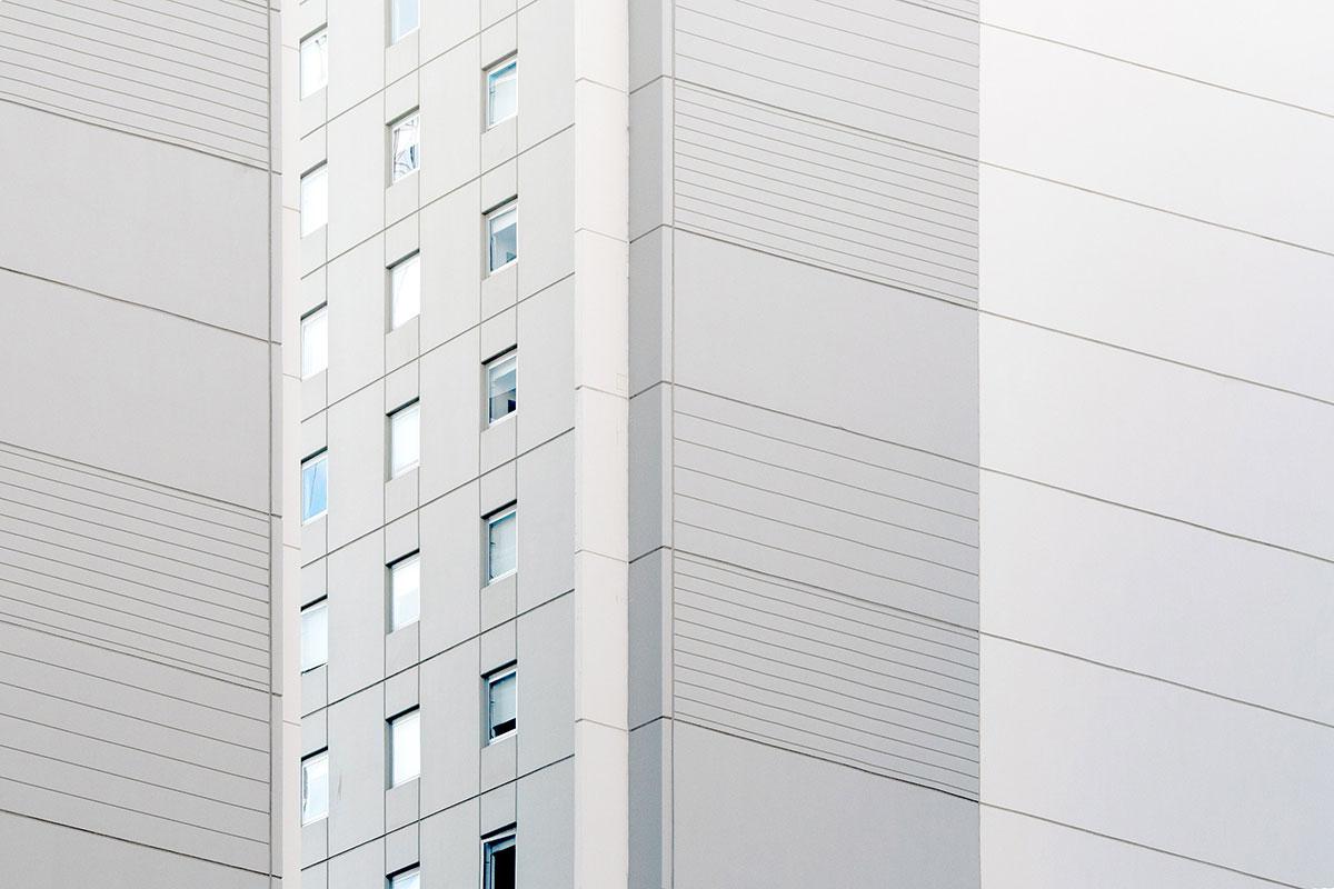 Kontaktna fasada stambena zgrada stanovi