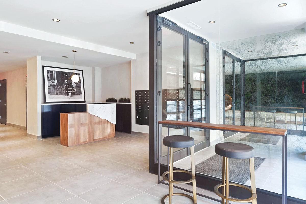The Dekalb Residences u LINEAL sistemu - aluminijum prozori i vrata