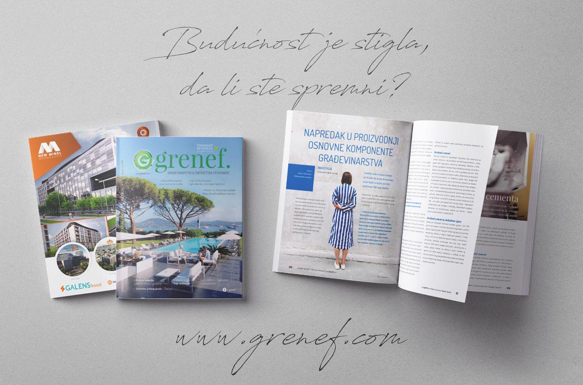 Časopis GRENEF-Građevinarstvo & Energetska Efikasnost, broj 6, jul 2019