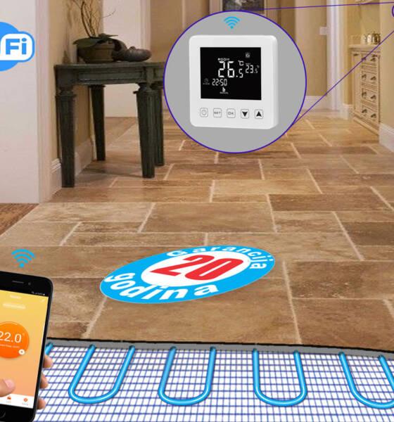 Pametni termostat za kontrolu podnog grejanja