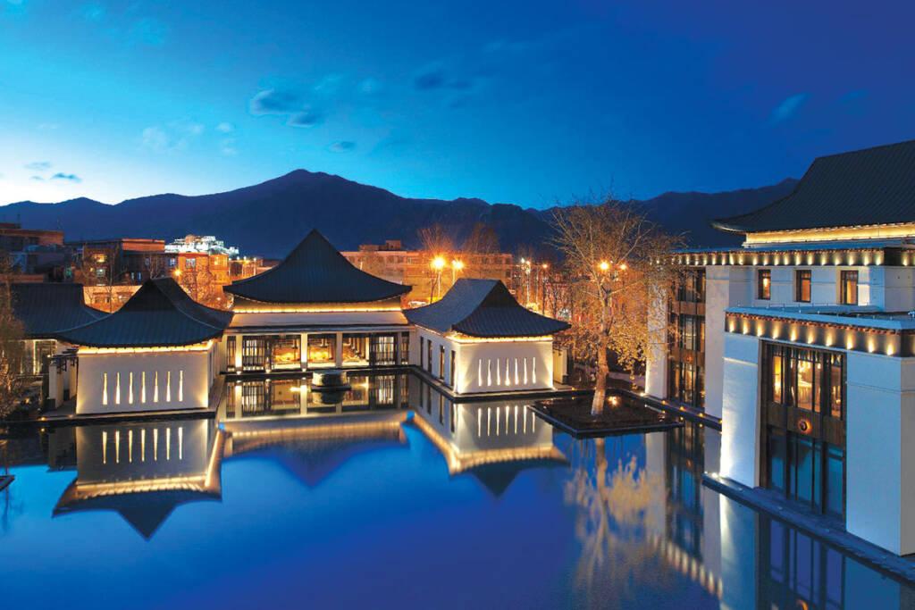 Bazeni The St Regis Lhasa Resort in Lhasa