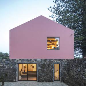 Pink boja za fasadu