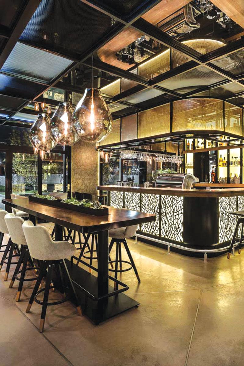 Restoran Ritual - projekat: A4 Studio - podopolagač Aditiv Balkan doo, dekorativni pod Nuvolato architop