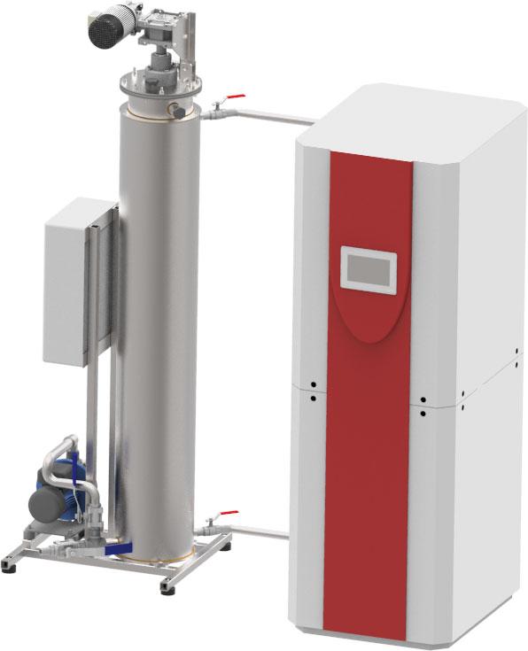 Separator sa rekuperacijom toplote ACO LipuTherm