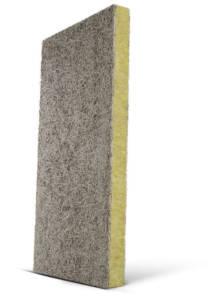Troslojna građevinska ploča sa jezgrom od kamene vune