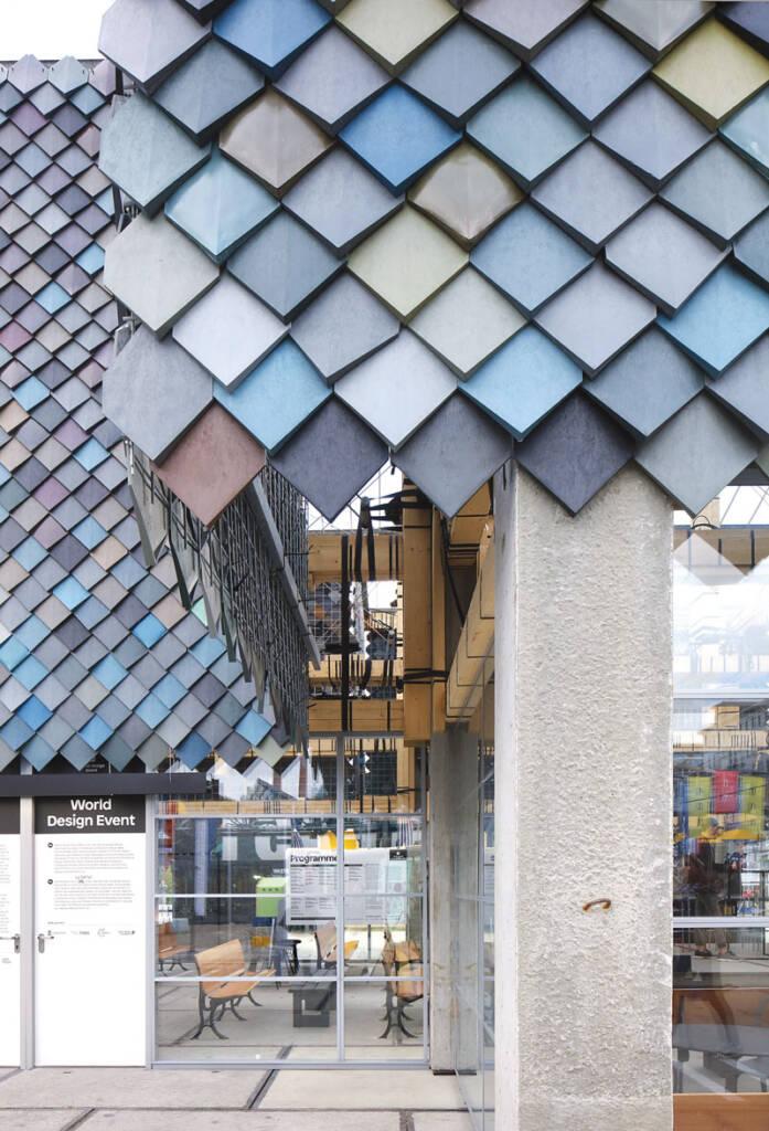 Foto: www.archdaily.com/ People's Pavillion, Filip Djuardin fasada od reciklirane plastike