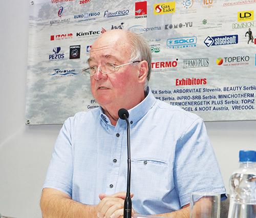 G. Slobodan Pejković, predsednik Komiteta za rashladnu tehniku, toplotne pumpe i energetsku efikasnost, pri Društvu za KGH Srbije